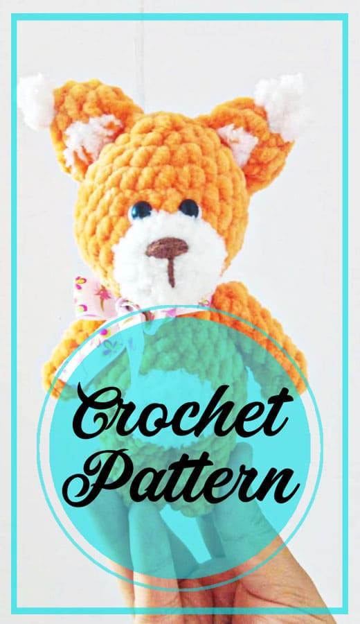 Awesome bear amigurumi plush crochet pattern