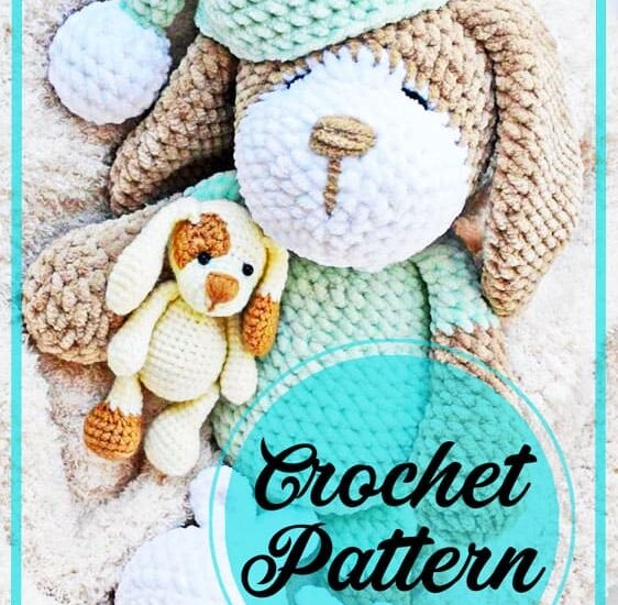 Big dog amigurumi free crochet pattern