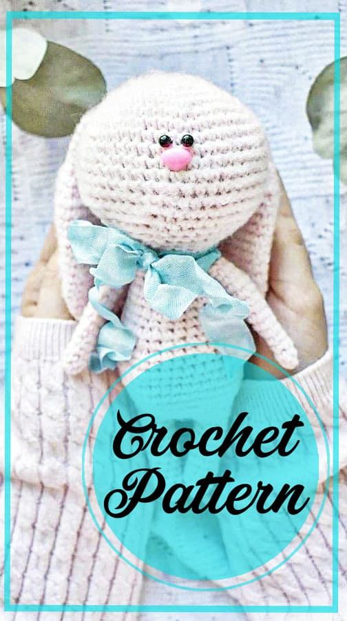 Little sweet bunny amigurumi free pattern