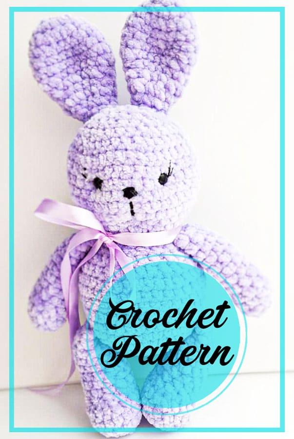 Lovely bunny amigurumi crochet free pattern