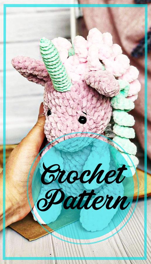 Cool unicorn amigurumi crochet free pattern