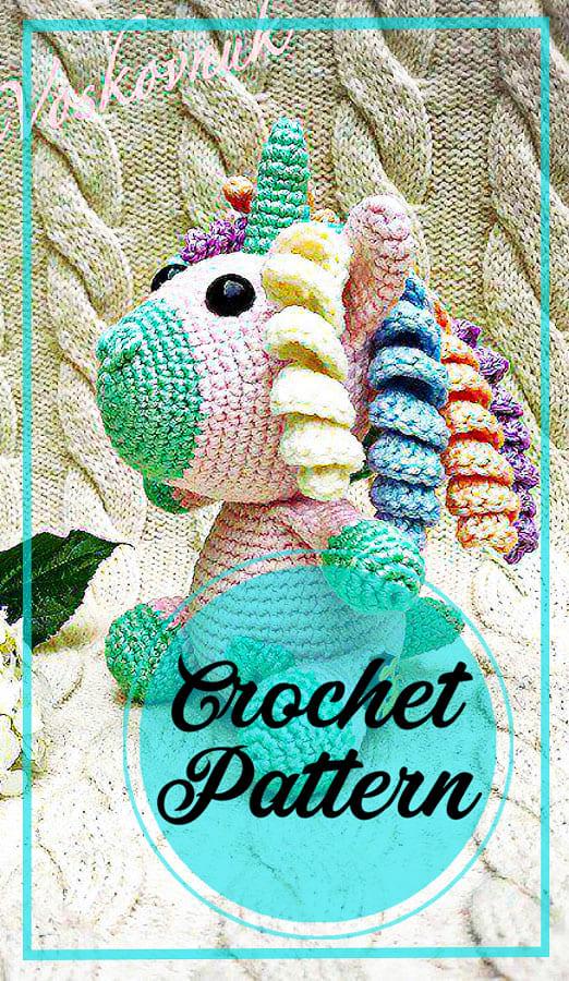 Unicorn amigurumi crochet free pattern