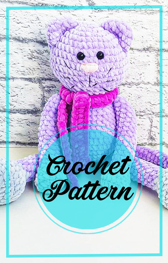 Crochet Cute Cat Plush Amigurumi Free Pattern