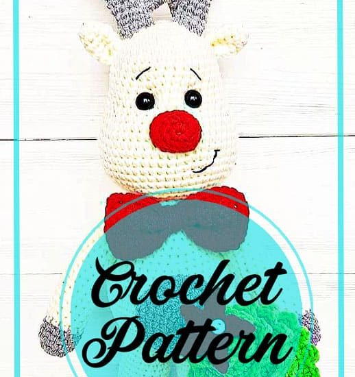 Deer christmas amigurumi and tree crochet free pattern