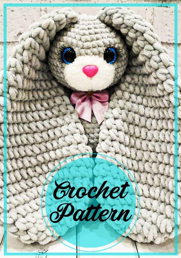 Plush big floppy ears bunny amigurumi free pattern