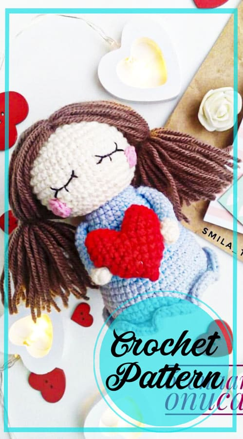Cute amigurumi doll crochet pattern