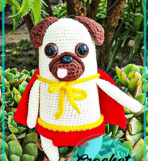 Amigurumi dog crochet free pattern