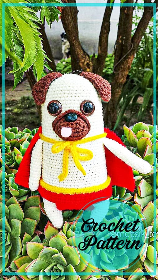 Amigurumi dog crochet free pattern
