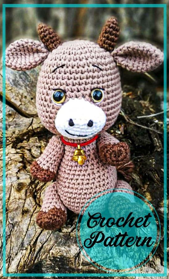 Mish cow amigurumi crochet free pattern