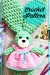 Plush bunny big floppy ears amigurumi crochet pattern