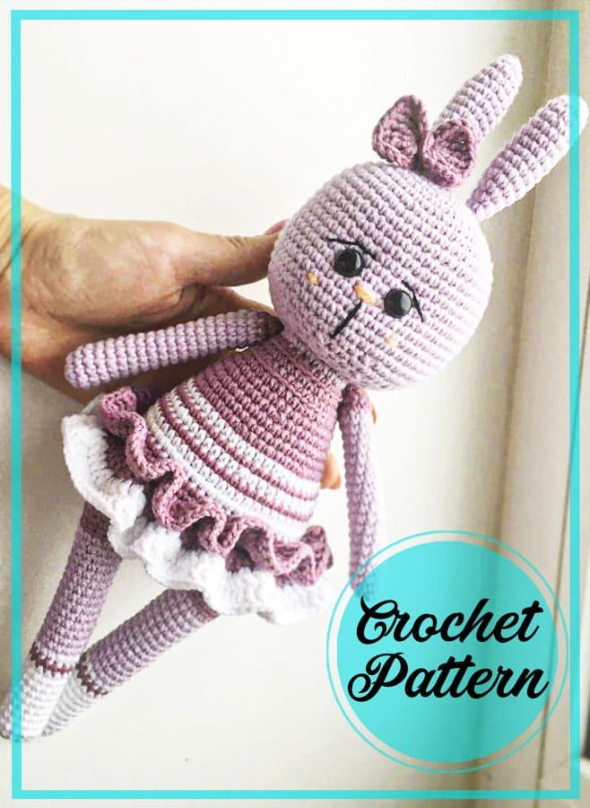 Amigurumi bunny crochet free pattern