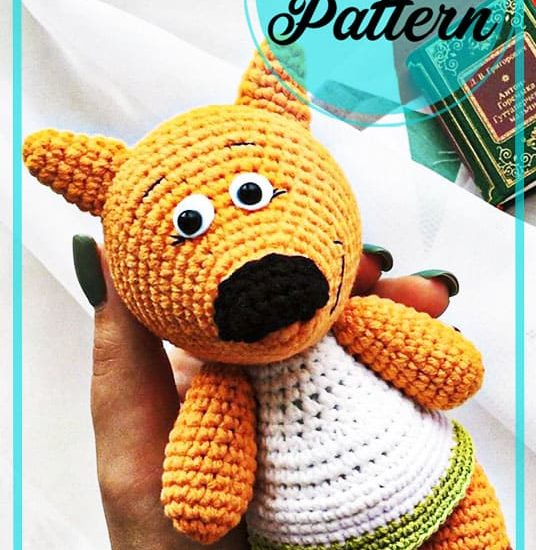 Easy Mimi Teddy Bear amigurumi free pattern