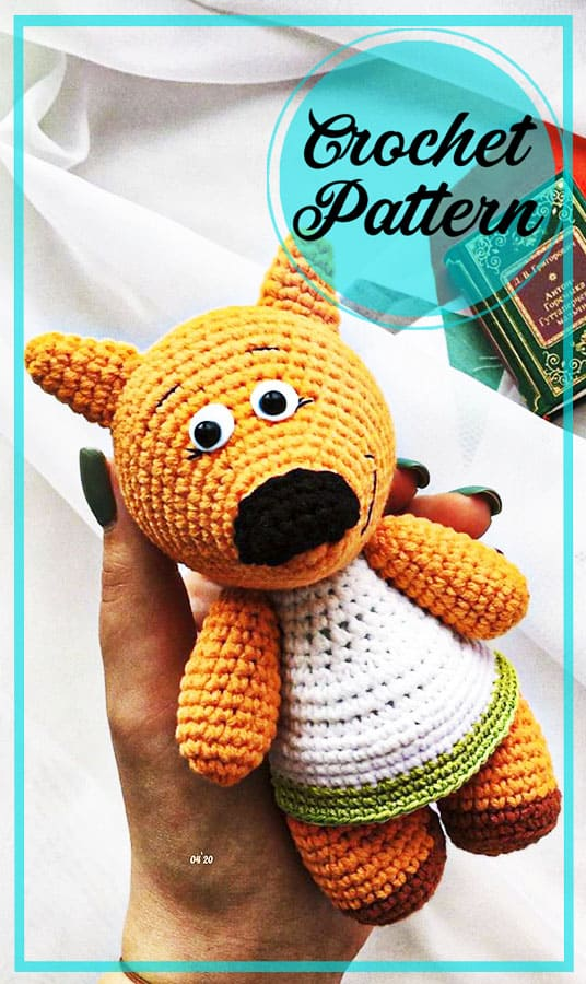 Easy Mimi Teddy Bear amigurumi free pattern