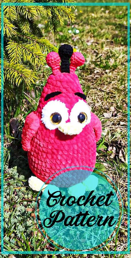 Plush Chicken amigurumi free crochet pattern (5)