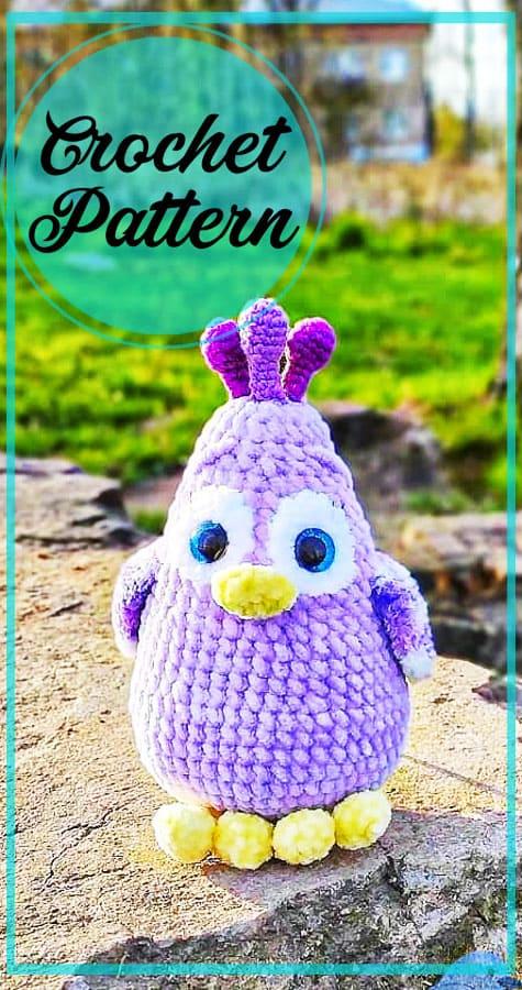 Plush Chicken amigurumi free crochet pattern (8)