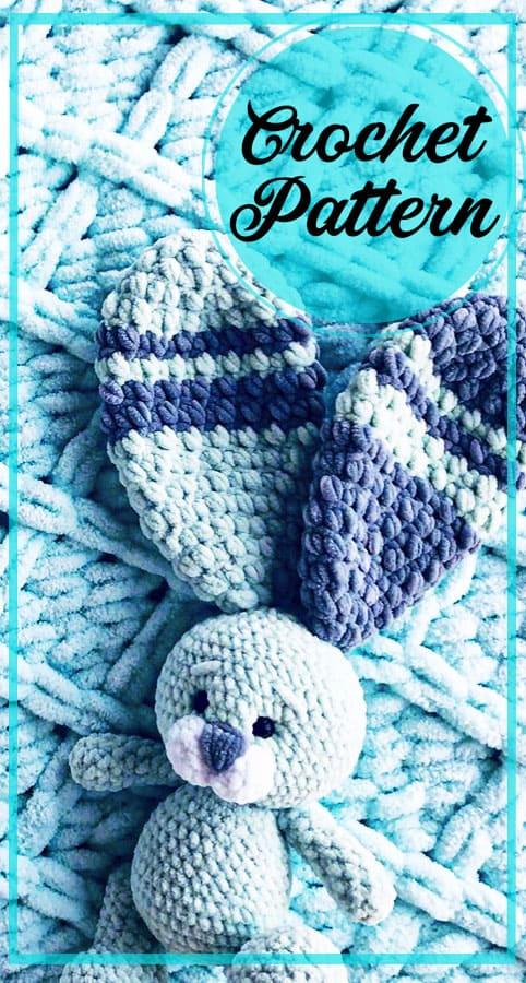 Plush bunny amigurumi free crochet pattern (4)