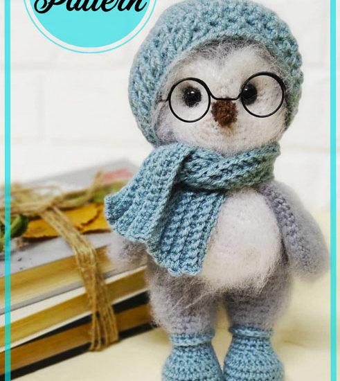 Puffy Penguin Amigurumi Crochet Pattern