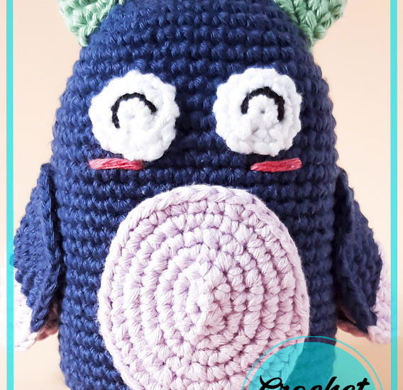 Mocho The Owl Amigurumi crochet free pattern