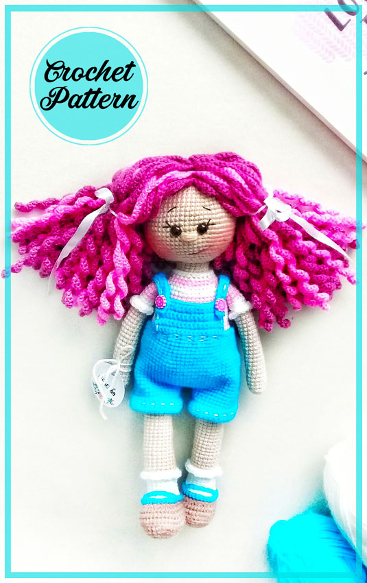 Lovely Girl Doll Amigurumi Free Crochet Pattern