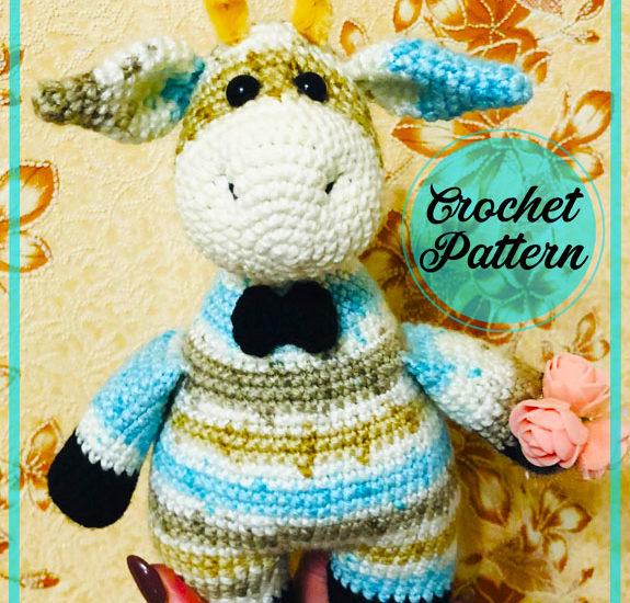 Giraffe Zhenechka Amigurumi crochet pattern
