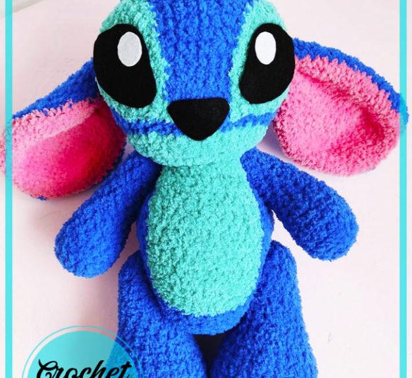 Stitch Cartoon Character Amigurumi Crochet Pattern