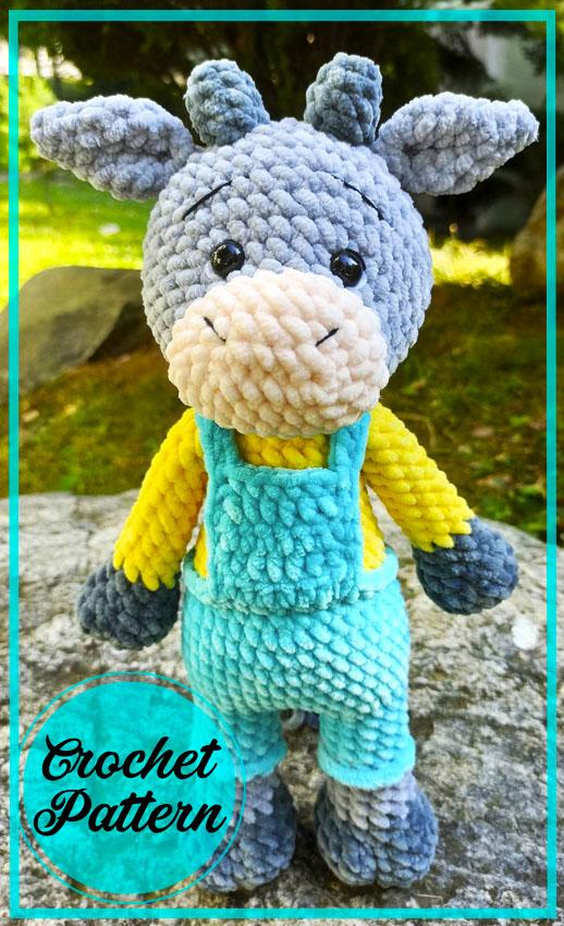 Bull Erofey Amigurumi crochet free pattern