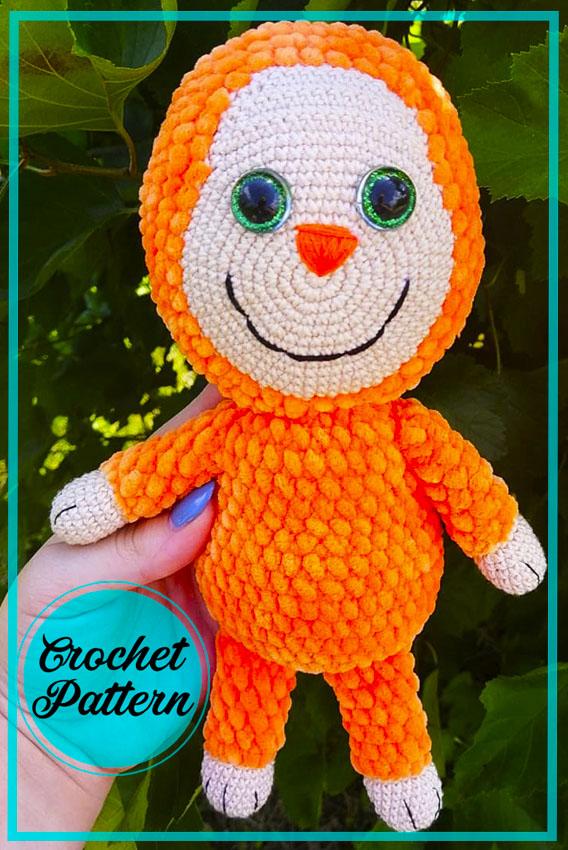 Mamavonok Doll Amigurumi Crochet Pattern
