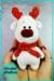 Christmas Reindeer Amigurumi Crochet Pattern