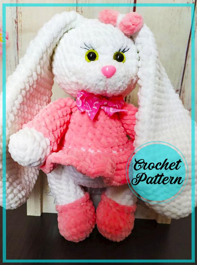 Bunny Martha Amigurumi Crochet Pattern