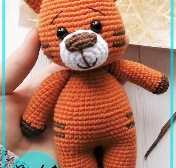 Tiger Cub Amigurumi Crochet Pattern
