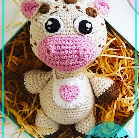 Mia Cow Amigurumi free crochet pattern