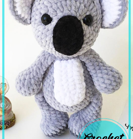 Big Koala Amigurumi Crochet Pattern