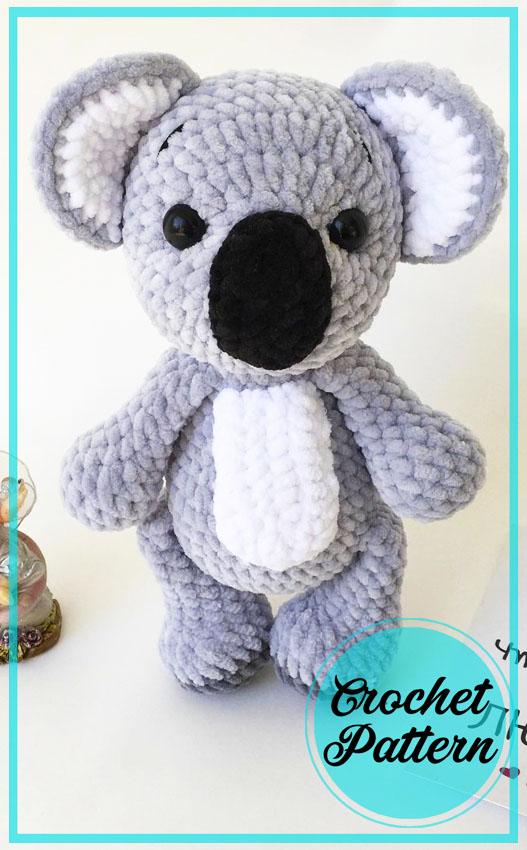 Big Koala Amigurumi Crochet Pattern