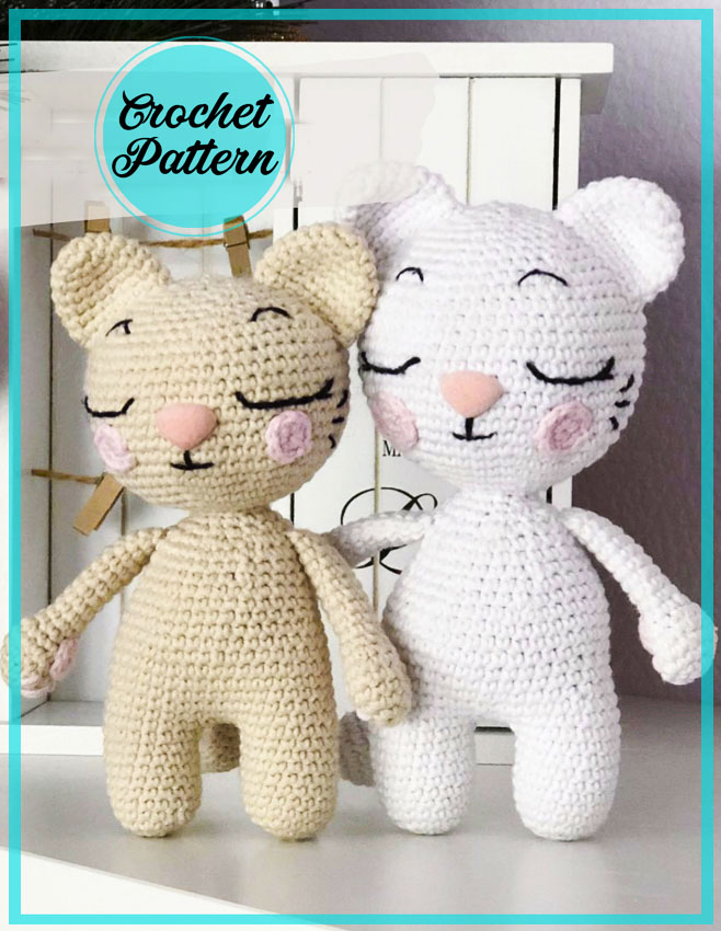Kitty lola amigurumi crochet cat free pattern