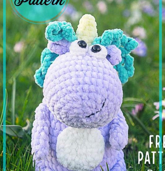 Lovely little Unicorn Amigurumi crochet pattern