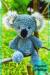 Koala Baby Amigurumi free crochet pattern