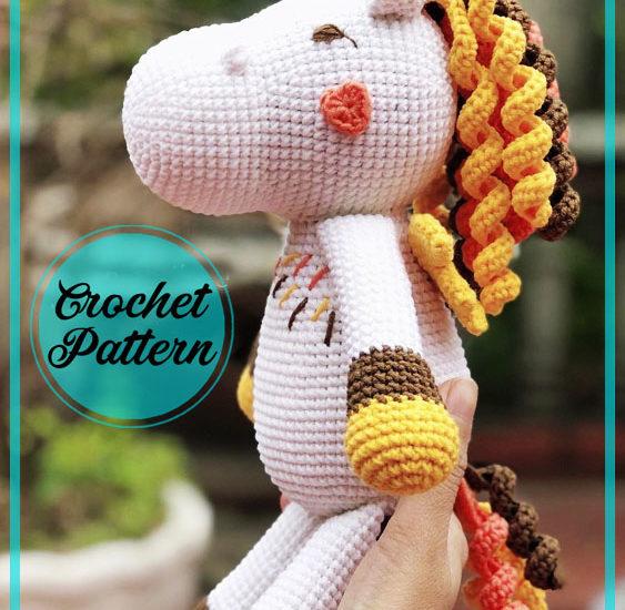 Cute Unicorn Amigurumi free pattern