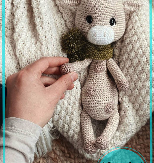 Franky Giraffe Amigurumi Free Crochet Pattern