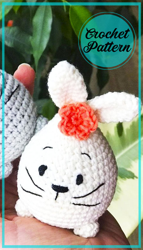 Little Easter Bunny amigurumi crochet pattern