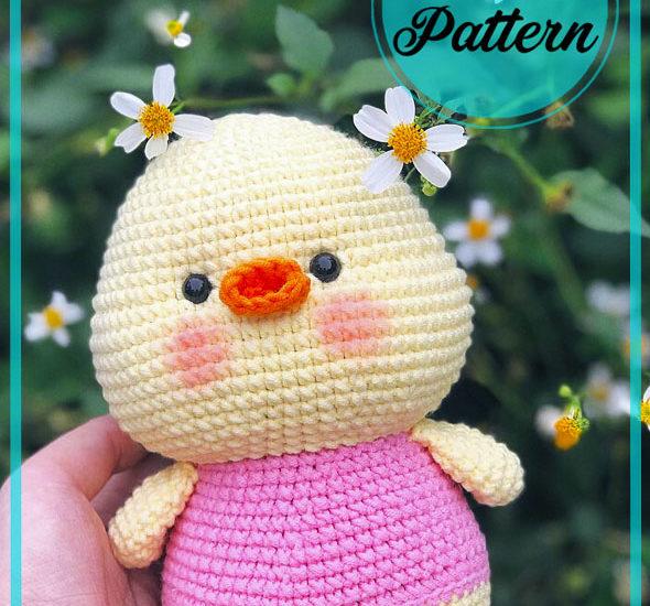 Little Duck Amigurumi free crochet Pattern