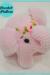 Plush Elephant Marshmallow Amigurumi free Pattern