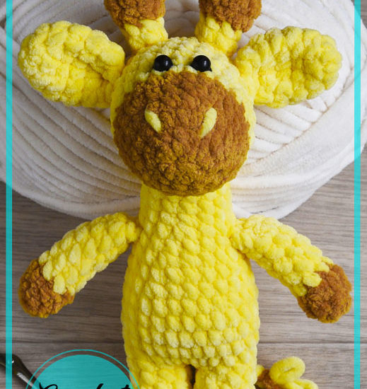 Lovely Big Giraffe Amigurumi free Crochet Pattern