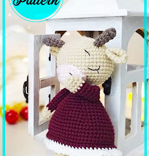 Zoya the cow Amigurumi Free Crochet Pattern