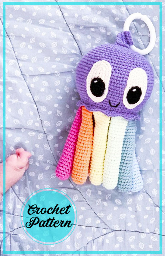 Nora Octopus Amigurumi free crochet pattern