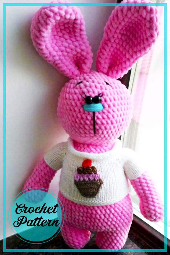 Marshmallow Bunny Amigurumi Crochet Pattern