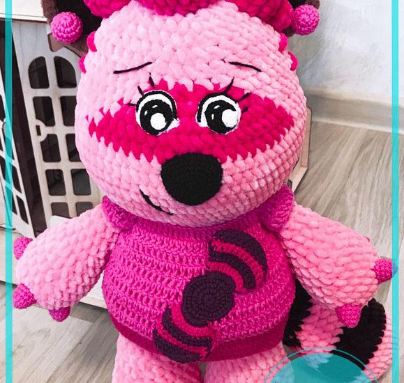 Sonya Racoon Amigurumi free crochet pattern
