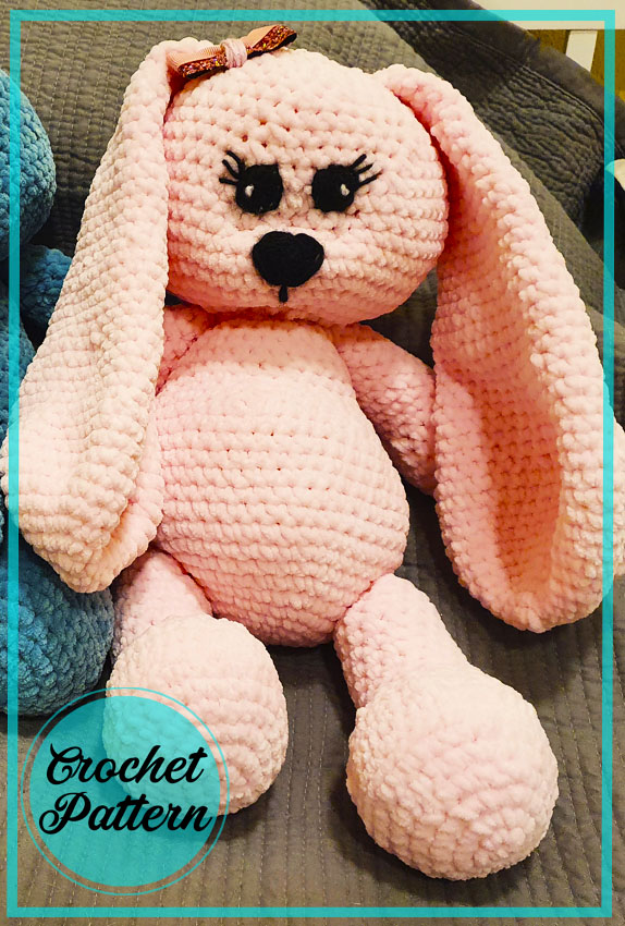 Puffy Plush Bunny Amigurumi Crochet Pattern