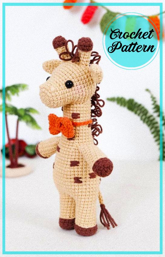 Giraffe Rafik Amigurumi Free Pattern