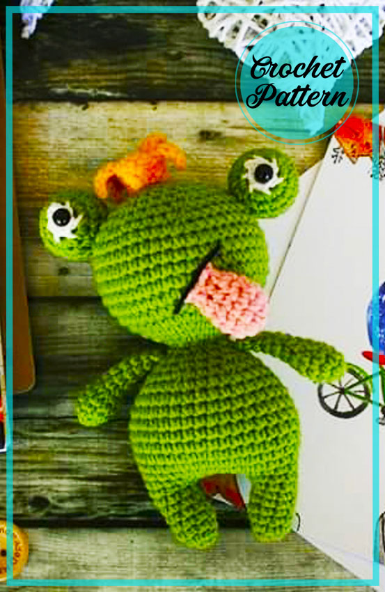 Fiona mini Frog Amigurumi crochet pattern