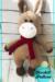 Lovely Donkey Amigurumi crochet free pattern